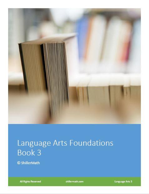 Language Arts Lesson Book 3