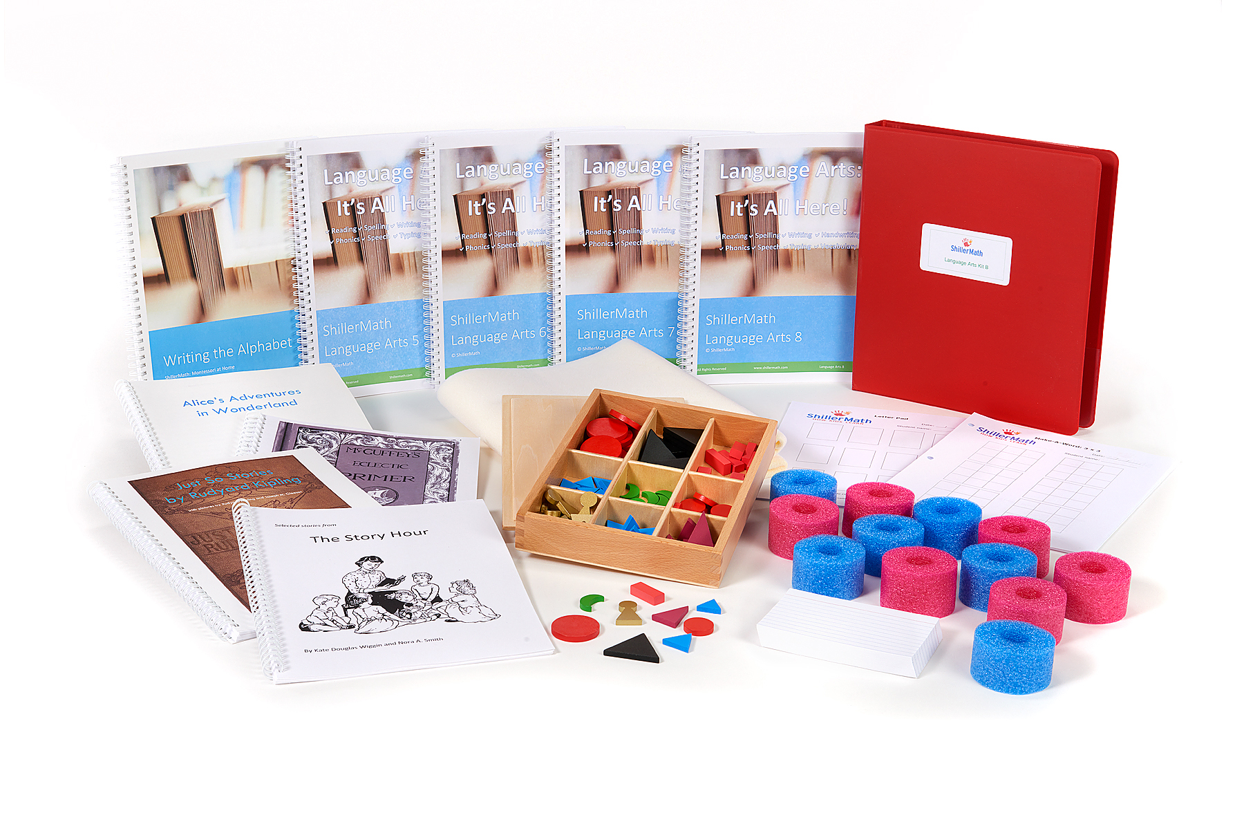 Language Arts B Kit (1st - 4th grade)