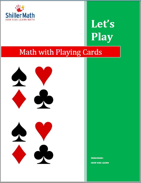ShillerLearning eBook Let's Play: Math with Playing Cards